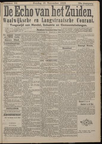 Echo van het Zuiden 1915-11-21