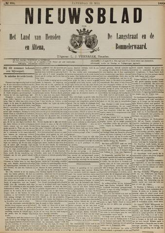 Nieuwsblad het land van Heusden en Altena de Langstraat en de Bommelerwaard 1890-05-31