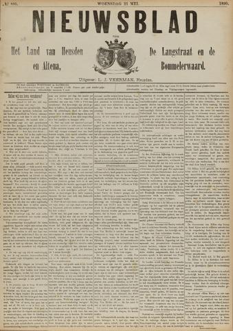 Nieuwsblad het land van Heusden en Altena de Langstraat en de Bommelerwaard 1890-05-21