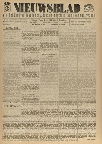 Nieuwsblad het land van Heusden en Altena de Langstraat en de Bommelerwaard 1927-10-12