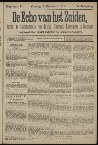 Echo van het Zuiden 1882-02-05