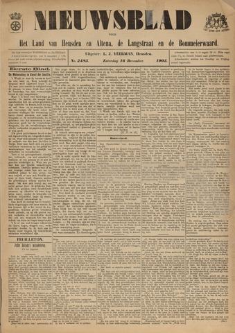 Nieuwsblad het land van Heusden en Altena de Langstraat en de Bommelerwaard 1905-12-16