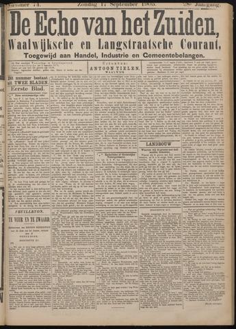 Echo van het Zuiden 1905-09-17