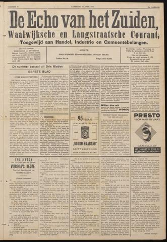 Echo van het Zuiden 1938-04-30