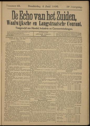 Echo van het Zuiden 1896-06-04