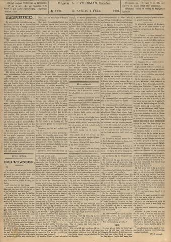 Nieuwsblad het land van Heusden en Altena de Langstraat en de Bommelerwaard 1903-02-04
