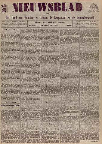Nieuwsblad het land van Heusden en Altena de Langstraat en de Bommelerwaard 1911-04-19