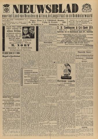 Nieuwsblad het land van Heusden en Altena de Langstraat en de Bommelerwaard 1930-11-14