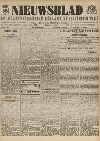Nieuwsblad het land van Heusden en Altena de Langstraat en de Bommelerwaard 1925-05-15