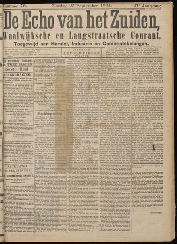 Echo van het Zuiden 1904-09-25