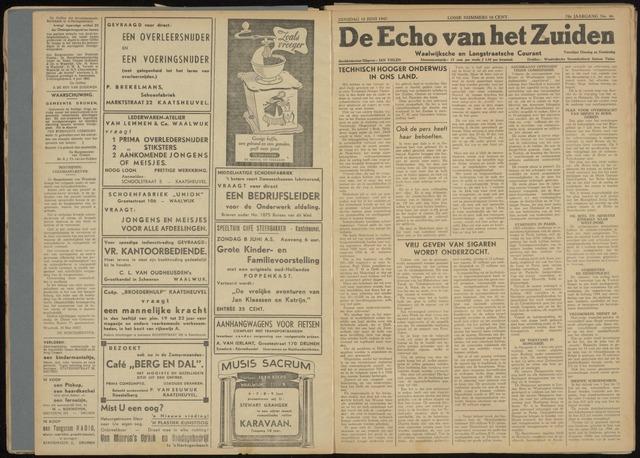Echo van het Zuiden 1947-06-10