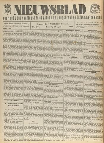 Nieuwsblad het land van Heusden en Altena de Langstraat en de Bommelerwaard 1920-04-28