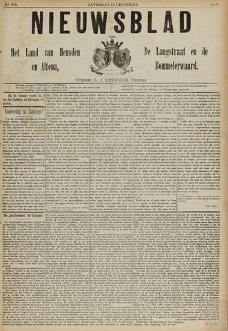 Nieuwsblad het land van Heusden en Altena de Langstraat en de Bommelerwaard 1890-12-13