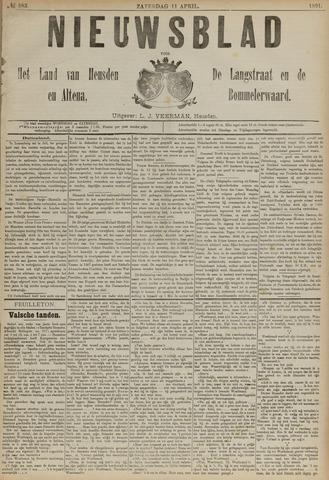 Nieuwsblad het land van Heusden en Altena de Langstraat en de Bommelerwaard 1891-04-11