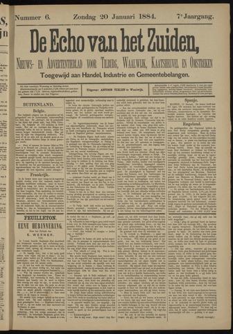 Echo van het Zuiden 1884-01-20