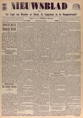 Nieuwsblad het land van Heusden en Altena de Langstraat en de Bommelerwaard 1909-09-04