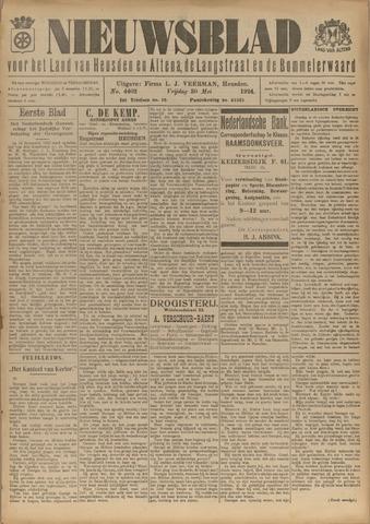 Nieuwsblad het land van Heusden en Altena de Langstraat en de Bommelerwaard 1924-05-30