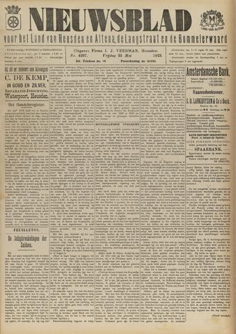 Nieuwsblad het land van Heusden en Altena de Langstraat en de Bommelerwaard 1923-05-25