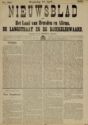 Nieuwsblad het land van Heusden en Altena de Langstraat en de Bommelerwaard 1883-04-24