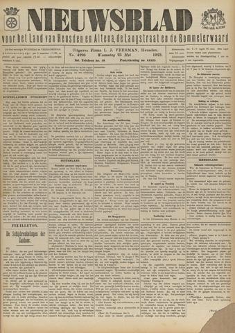 Nieuwsblad het land van Heusden en Altena de Langstraat en de Bommelerwaard 1923-05-23