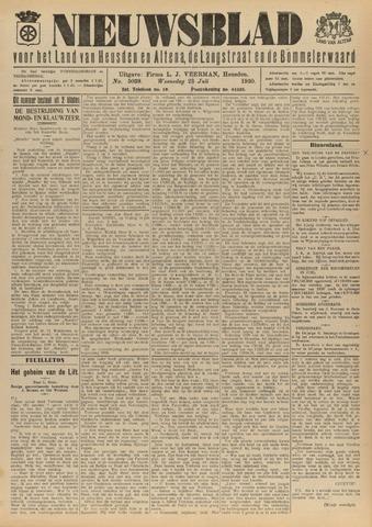 Nieuwsblad het land van Heusden en Altena de Langstraat en de Bommelerwaard 1930-07-23