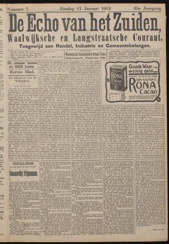 Echo van het Zuiden 1912-01-21