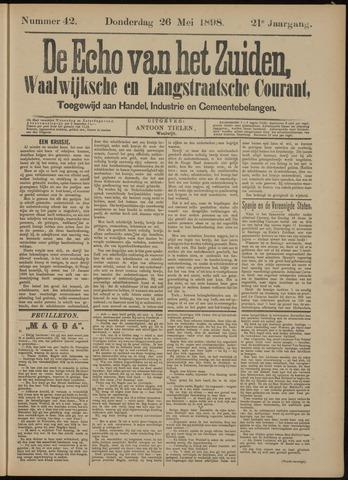 Echo van het Zuiden 1898-05-26