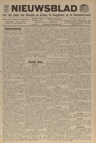 Nieuwsblad het land van Heusden en Altena de Langstraat en de Bommelerwaard 1948-02-02