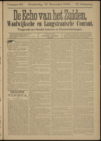 Echo van het Zuiden 1888-12-13
