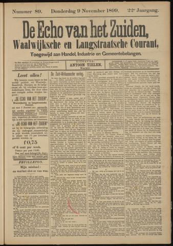 Echo van het Zuiden 1899-11-09