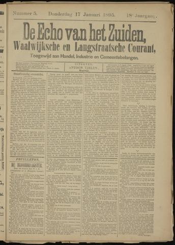 Echo van het Zuiden 1895-01-17
