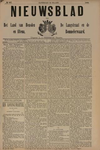 Nieuwsblad het land van Heusden en Altena de Langstraat en de Bommelerwaard 1888-03-24