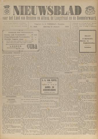 Nieuwsblad het land van Heusden en Altena de Langstraat en de Bommelerwaard 1919-01-11