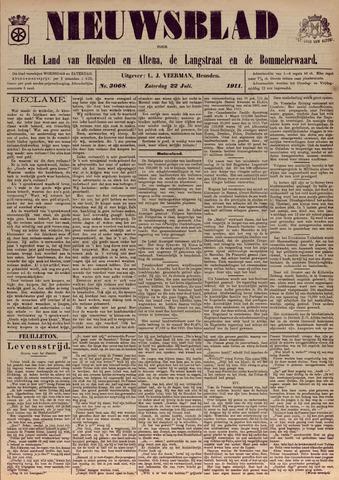 Nieuwsblad het land van Heusden en Altena de Langstraat en de Bommelerwaard 1911-07-22