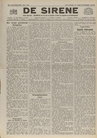 De Sirene 1945-09-21