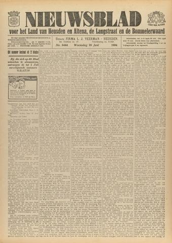 Nieuwsblad het land van Heusden en Altena de Langstraat en de Bommelerwaard 1934-06-20