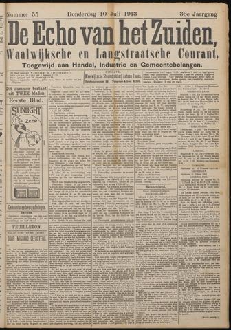 Echo van het Zuiden 1913-07-10