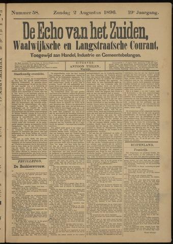 Echo van het Zuiden 1896-08-02