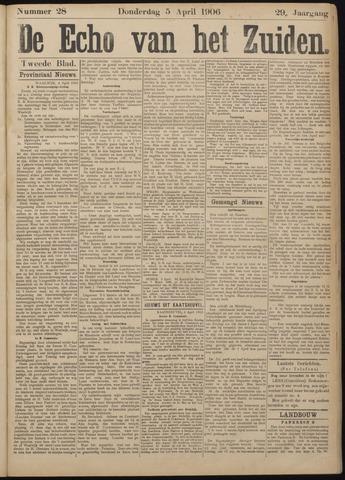 Echo van het Zuiden 1906-04-05