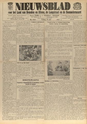 Nieuwsblad het land van Heusden en Altena de Langstraat en de Bommelerwaard 1943-07-30