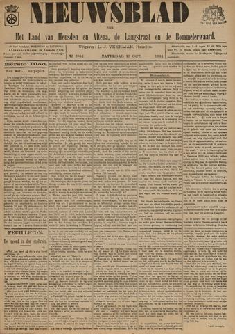 Nieuwsblad het land van Heusden en Altena de Langstraat en de Bommelerwaard 1901-10-19