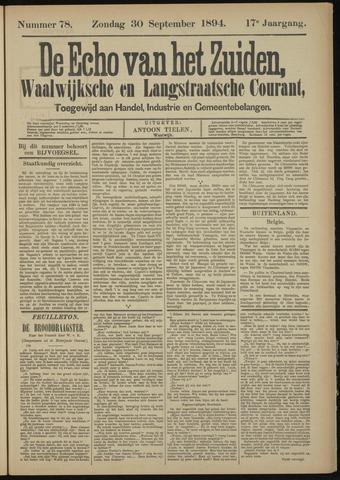 Echo van het Zuiden 1894-09-30