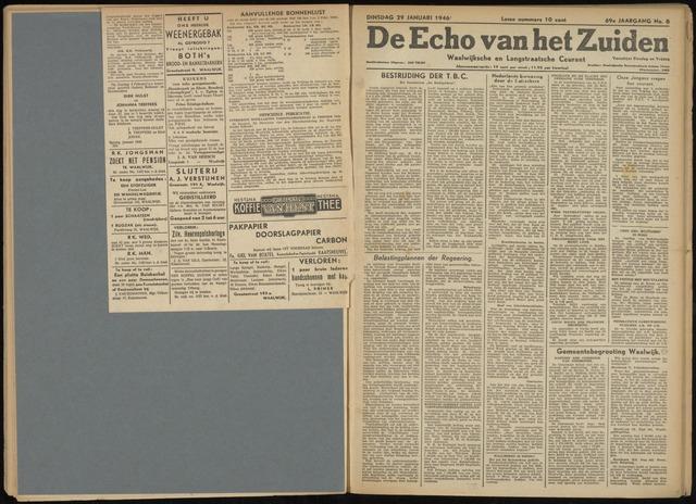 Echo van het Zuiden 1946-01-29