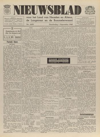 Nieuwsblad het land van Heusden en Altena de Langstraat en de Bommelerwaard 1949-09-01