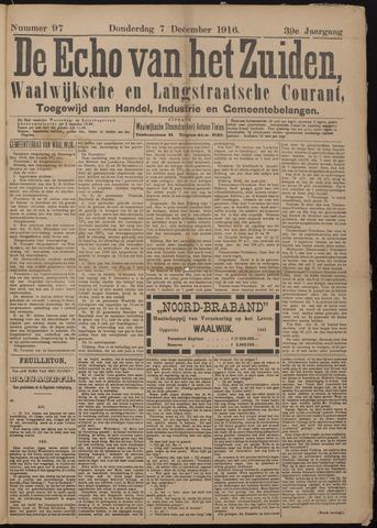 Echo van het Zuiden 1916-12-07