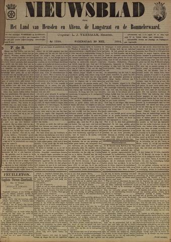 Nieuwsblad het land van Heusden en Altena de Langstraat en de Bommelerwaard 1894-05-30