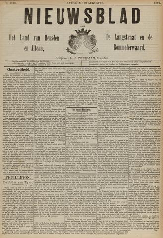 Nieuwsblad het land van Heusden en Altena de Langstraat en de Bommelerwaard 1891-08-29