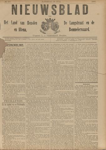 Nieuwsblad het land van Heusden en Altena de Langstraat en de Bommelerwaard 1887-07-23