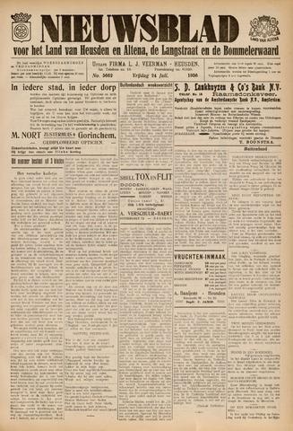 Nieuwsblad het land van Heusden en Altena de Langstraat en de Bommelerwaard 1936-07-24