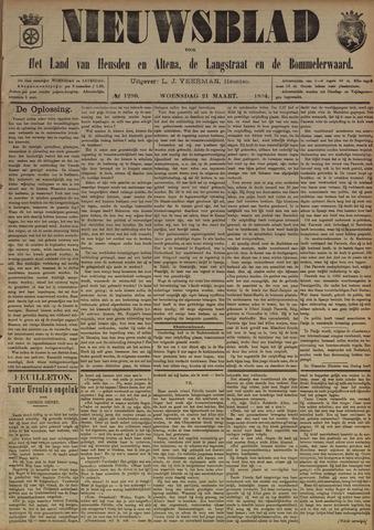 Nieuwsblad het land van Heusden en Altena de Langstraat en de Bommelerwaard 1894-03-21